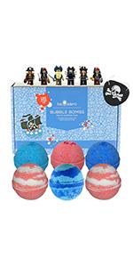 Pirate  Bubble Bath Bombs Gift Set