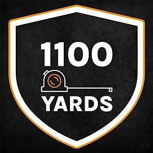 1100 Yards Range