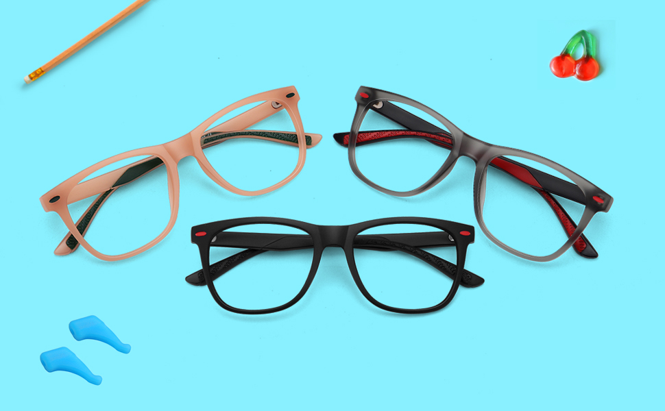 kids blue light blocking glasses blue light filter glasses boys girls computer glasses