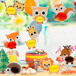 animal party centerpiece