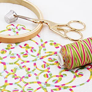 cotton multicolor thread