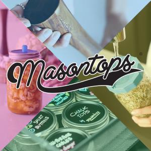 masontops pickle pipe pebble packer fermentation bean screen sprout