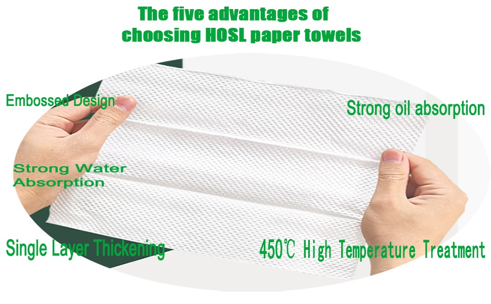 drying paper tissue