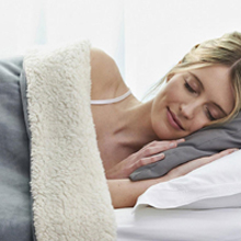 Pure Warmth Electric Heated Blanket Therapeutic Relief