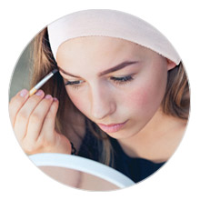 disposable apparel head wear headband hair supplies spa salon esthetician professional makeup salon