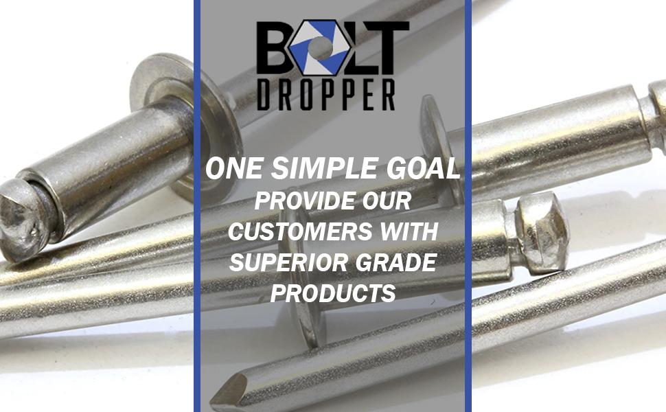 Bolt Dropper Stainless Steel rivets