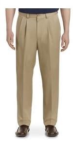 Oak Hill Waist Relaxer Pleated Microfiber pants