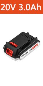 black and decker 20v lithium battery