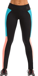 women yoga leggings black