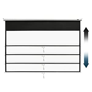 Elite screen Manual B pull down projector screen