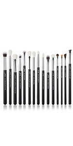 black makeup brushes