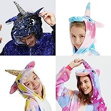 unicorn costume onesie pajamas cosplay loungewear party show home gift for women men kids girls boys