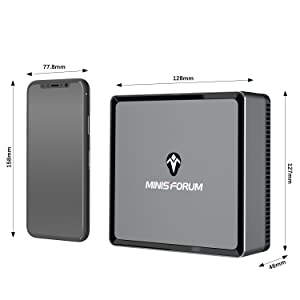 minisforum mini pc windows 10 pro mini computer great mini pc amd ryzen mini computer