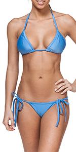 Bikini bottom simple cute sexy classic basic womens swimwear one piece two piece solid colors prints