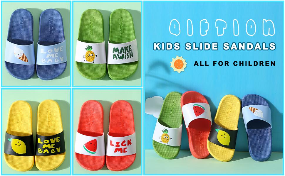 Kids Unicorn Clogs Boys Girls Slippers Summer Kids Lightweight Sandals Shockproof Non-Slip Garden Shoes Slip on Water Pool Beach Slipper