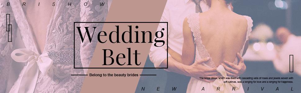 wedding belt sash for women