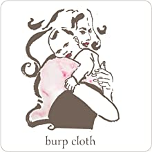 BURP CLOTH BLANKIE MUSLIN SOFT ABSORBENT BABY BEBE NEWBORN MUMMY NEW MUM NURSERY ESSENTIALS WRAP