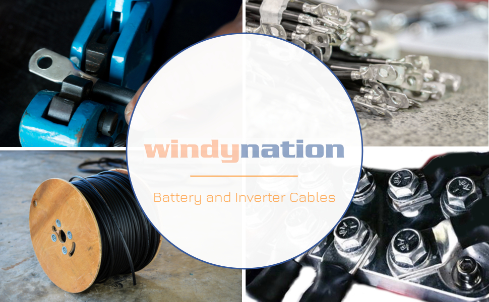 battery and inverter cables
