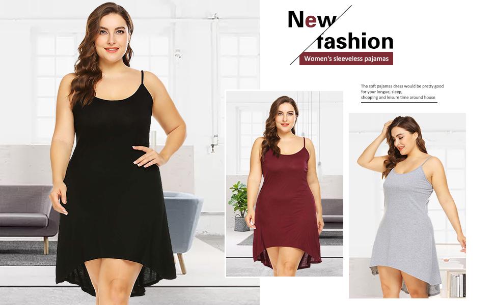 Women's Plus Size Nightgown Sleepwear