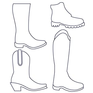 All types of Boots
