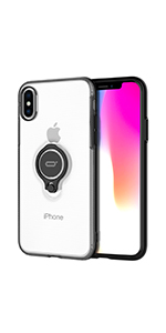 iphone xs x case with ring