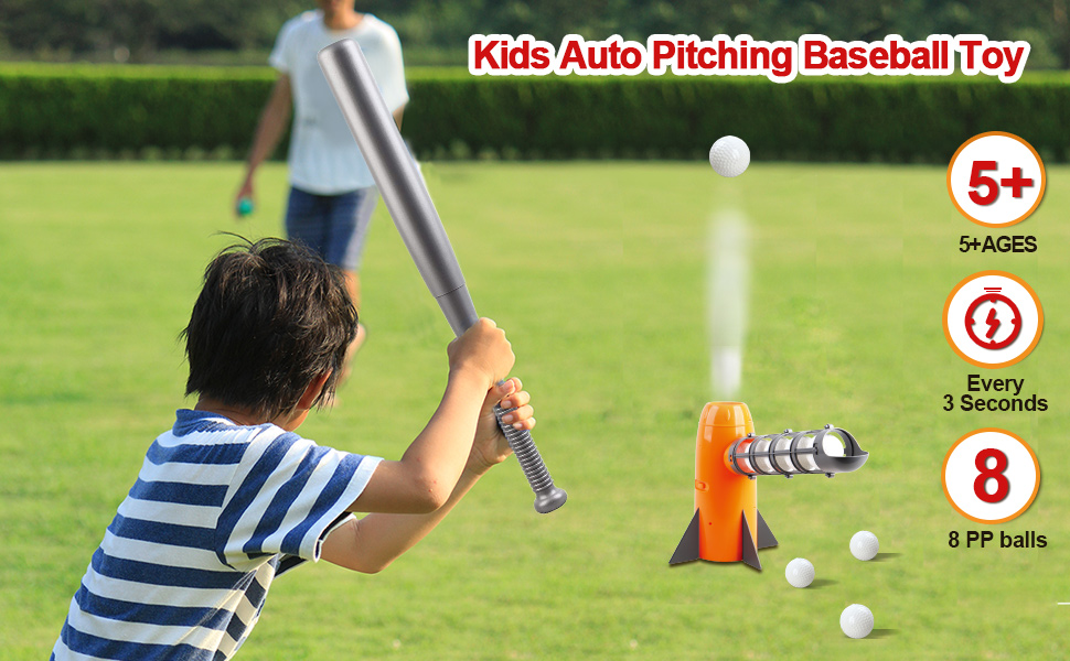 Kids Baseball Practice Game for Boys 5 to 12
