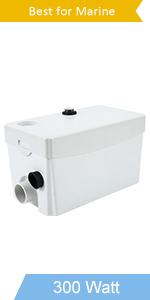 300watt sewage water marine pump