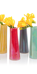 Chive Galaxy Cylinder Flower Vase