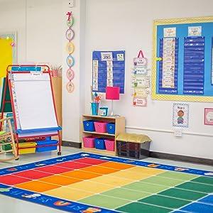 Kindergarten learning chairs classroom color children JOON