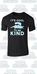 Be Kind Choose Kindness Teacher Cute No Bullies Graphic Tee T-Shirt for Men