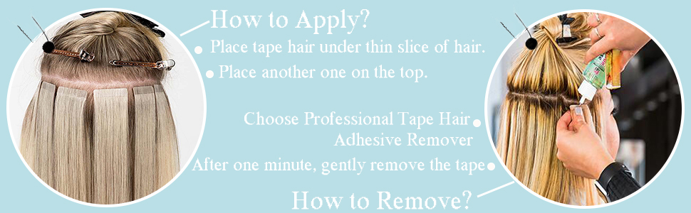 how to remove and apply