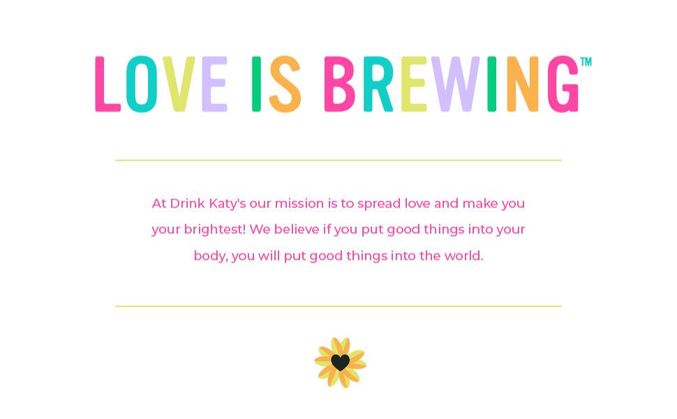 Love Is Brewing Banner