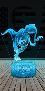 T-rex night light for boys