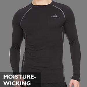 Thermajohn Men Compression Shirt