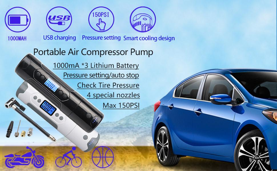 portable air compressor pump