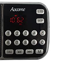 AM FM Portable Radio Mini Speaker Rechargeable Radio