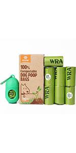 compostable dog poop bag