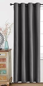 grommet blackout curtains 2 panels