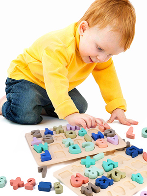 SAFETY WOODEN PUZZLES TOY