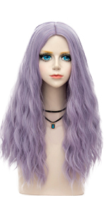 Pastel Purple Wig