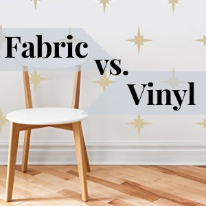 vinyl vs fabric wall decal sticker