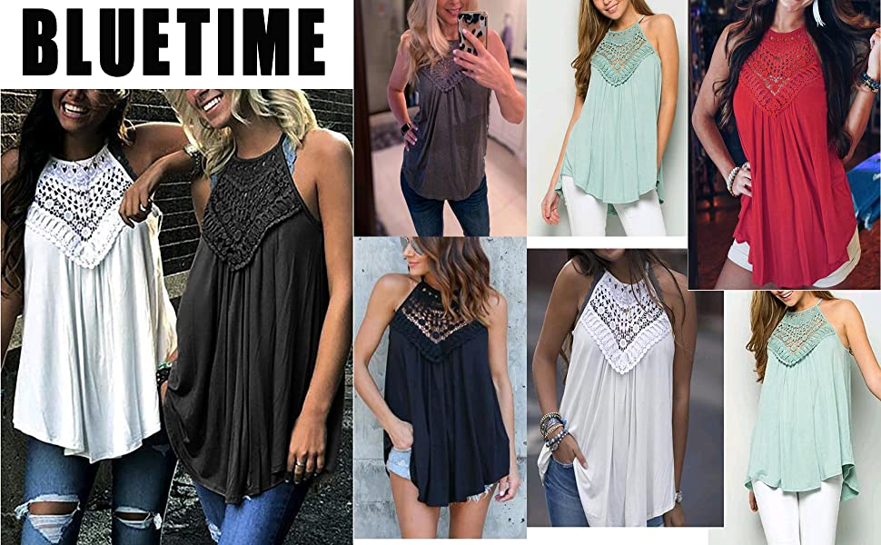 halter tank tops for women lace tops for women flowy tank tops dressy juniors summer tops clothing