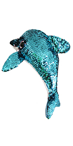 sequin dolphin