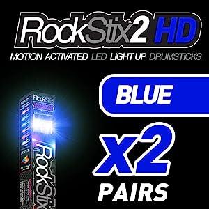 rockstixhd rockstix baquetas drumsticks lighting glowing glow light up lighting kids