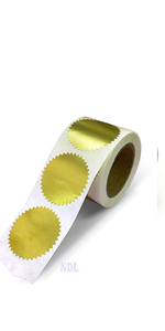 Serrated Label Seals
