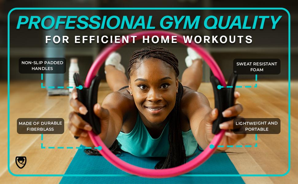 URbNfit Workout Gym Equipment Ring Pilates
