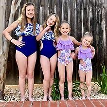 bathing suit little girls