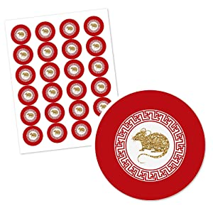Chinese New Year 2020 Year of the Rat Stickers Decorations