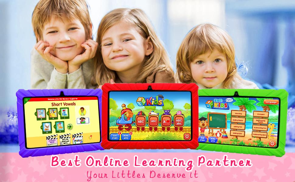 KIDS TABLET EDUCATION LEARNING