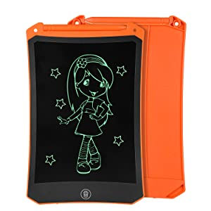 8.5 inch orange lcd drawing tablet